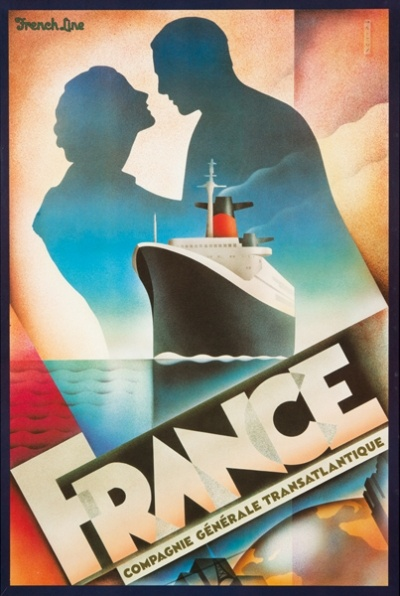 John Mattos, French Line Poster, United States, 1979