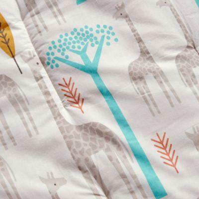High Plains Giraffe Organic Crib Bedding   The Land of Nod