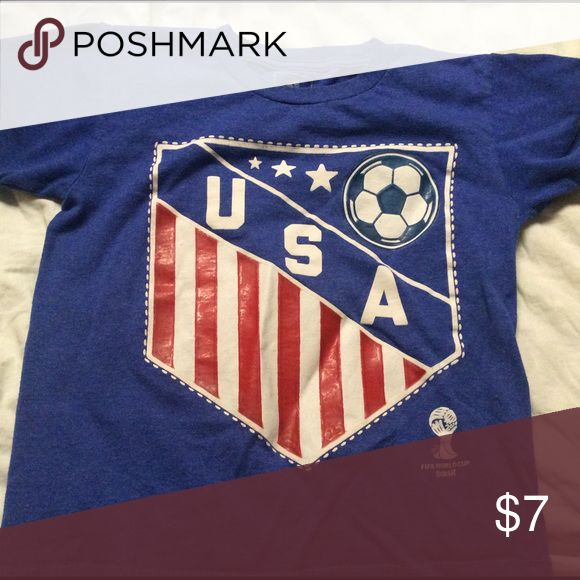 Youth USA soccer shirt Great condition Shirts & Tops Tees - Short Sleeve