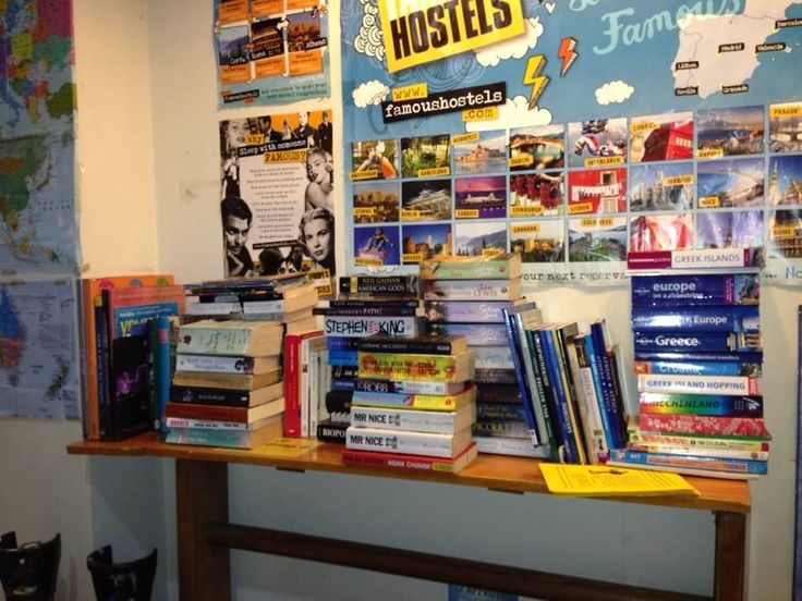 Book exchange corner :)
