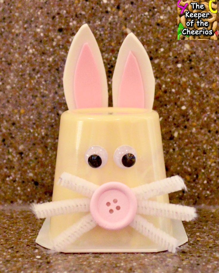 Bunny Pudding Cup – The Keeper of the Cheerios