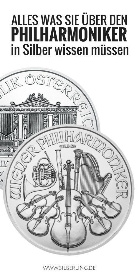 Der Wiener Philharmoniker Silber ist die auflagenstärkste Anlagemünze in Europa. Er hat einen offiziellen Nennwert von 1,50 Euro und besteht zu 99,9 Prozent aus Silber. Hier mehr erfahren.