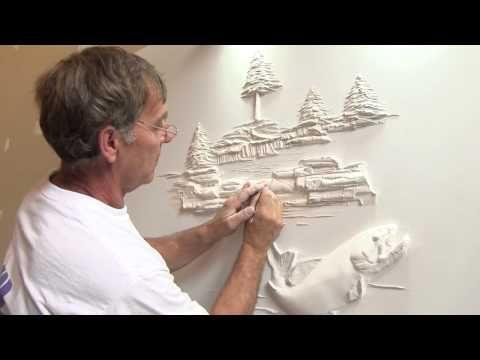 Drywall Art Sculpture