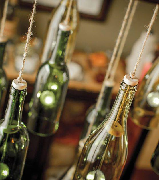 Best 25 homemade chandelier ideas on pinterest diy for How to make your own wine bottle chandelier