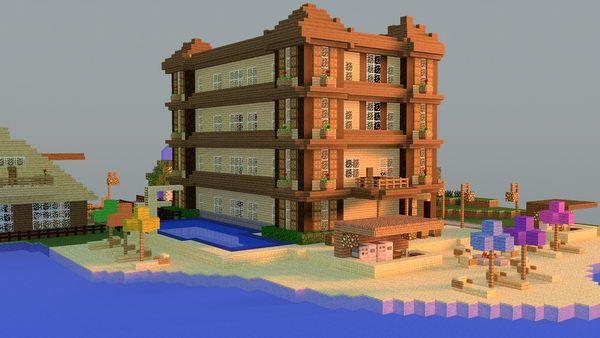 50 Cool Minecraft House Designs, http://hative.com/cool-minecraft-house-designs/,