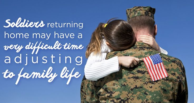 Soldiers Returning Home May Have a Difficult Time Adjusting