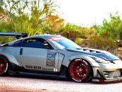 Widebody Nissan 350Z Stance Wheels