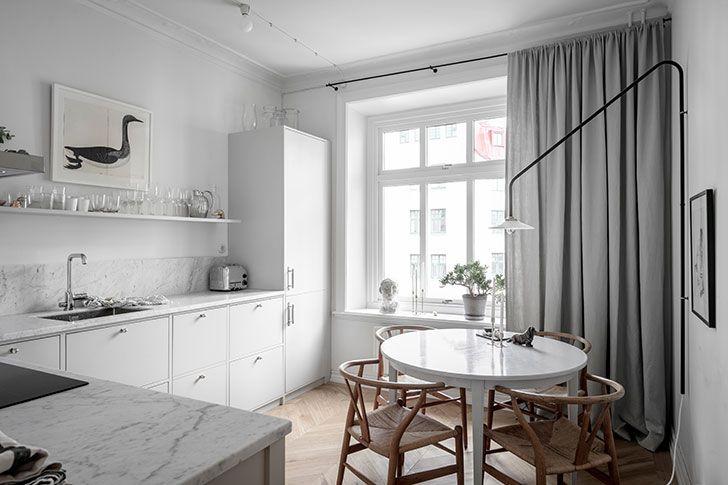 Белая квартира с изящным декором (67 кв. м) 〛 Фото Идеи ...