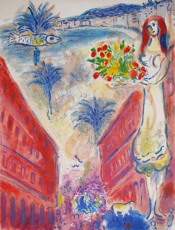 Marc chagall biography marc chagall after avenue de la for Biographie de marc chagall