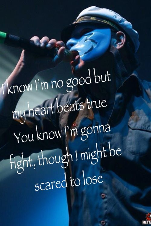 Hollywood Undead - Believe....good idea! Only J-Dog sings this part...not J3T...