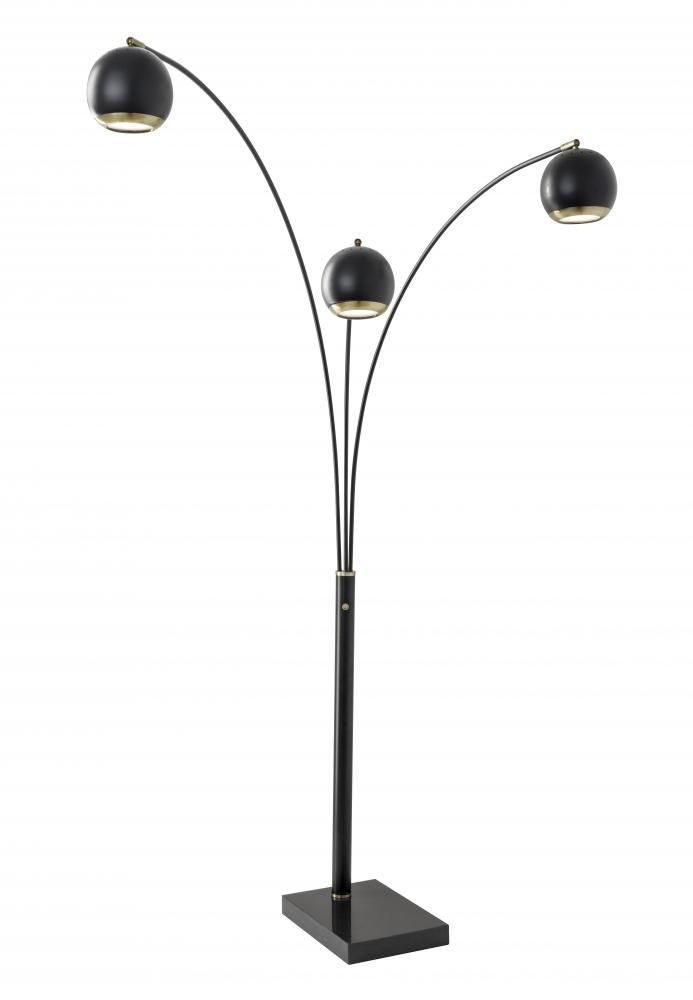 Lamps By Adesso Quincy LED Arc Lamp 3388-01