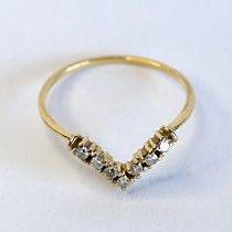 Freedom diamonds ring. $470