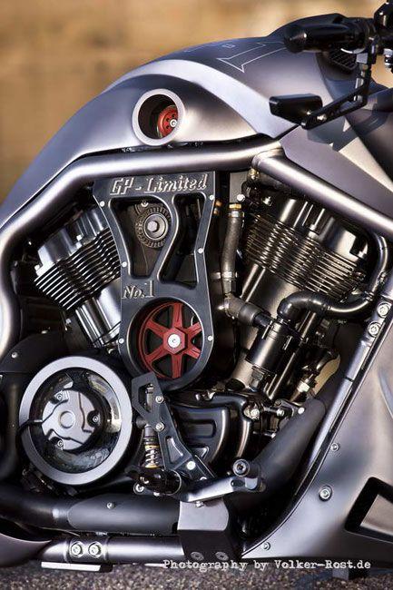 Custom - Harley Davidson V-Rod GP-1 by No Limit CustomMotorCycleTuned