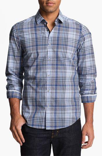 BOSS Black 'Lorenzo' Regular Fit Sport Shirt | Nordstrom  (love BOSS)
