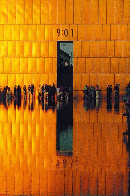 Outdoor Symbolic Memorial at the Oklahoma City National Memorial & Museum in Oklahoma City, Oklahoma