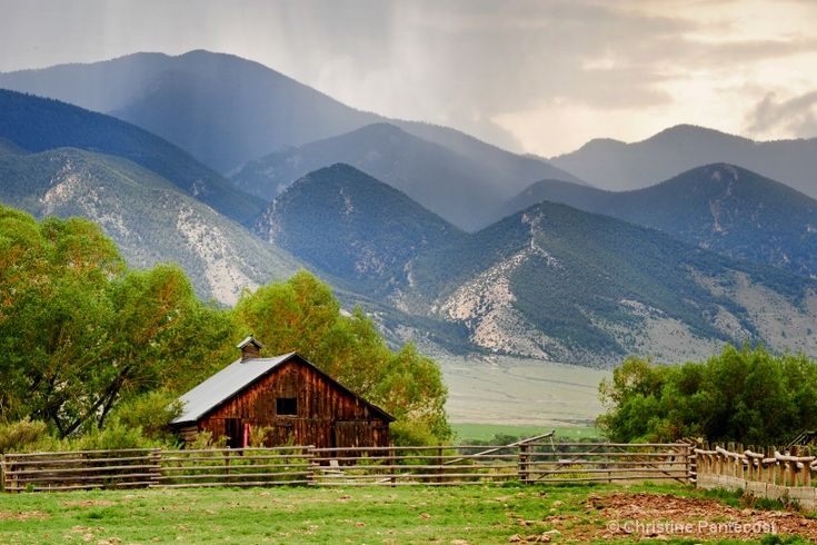 someday ill see montana's mountains