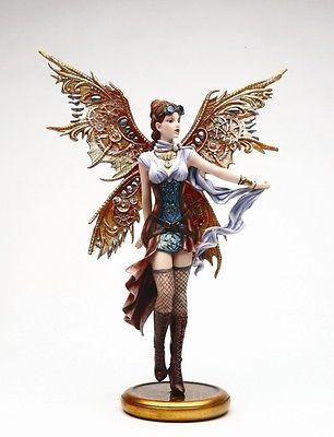 Steampunk-Fairy-Statue-Jess-Pretty-Warcraft-Princess-Atlas-Air-Jet-Traveller
