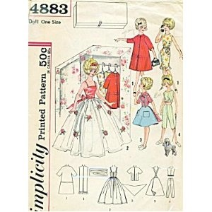 162 Best Images About Sewing For Vintage Barbie On