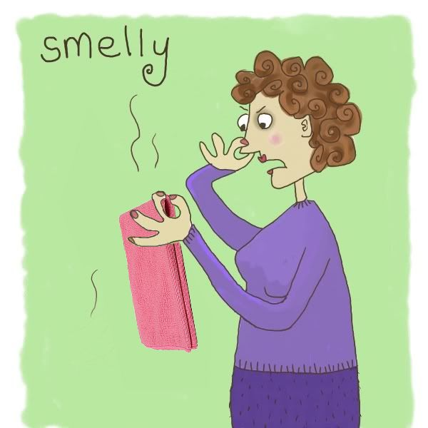 Autumn's Norwex: Smelly Cloths?
