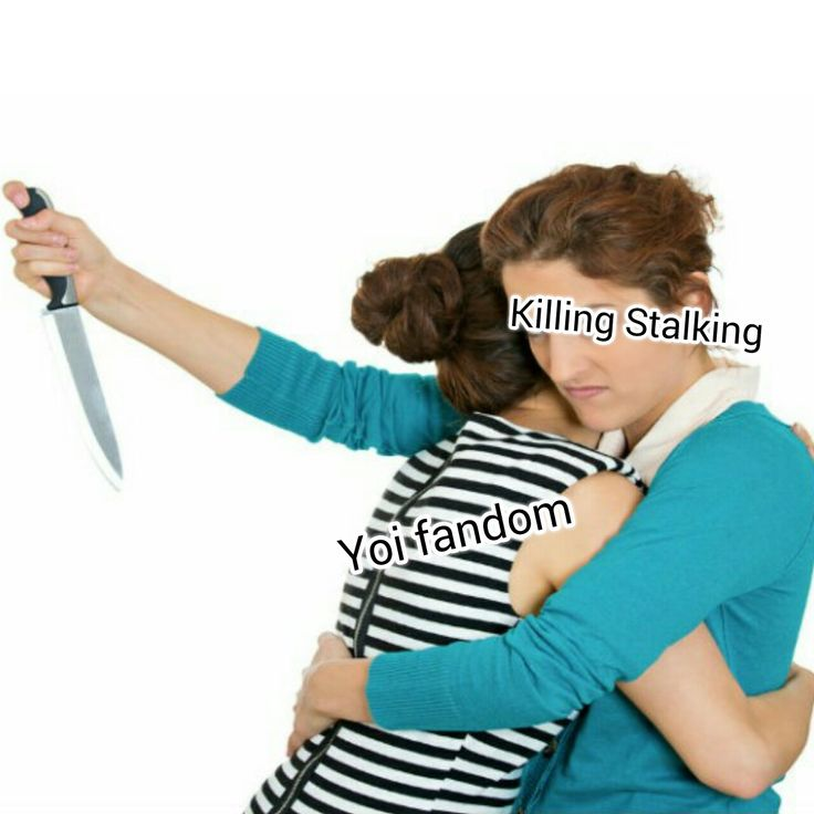 half the yoi fandom ran away to Killing Stalking... - ユリ!!  Lmao! It's true tho