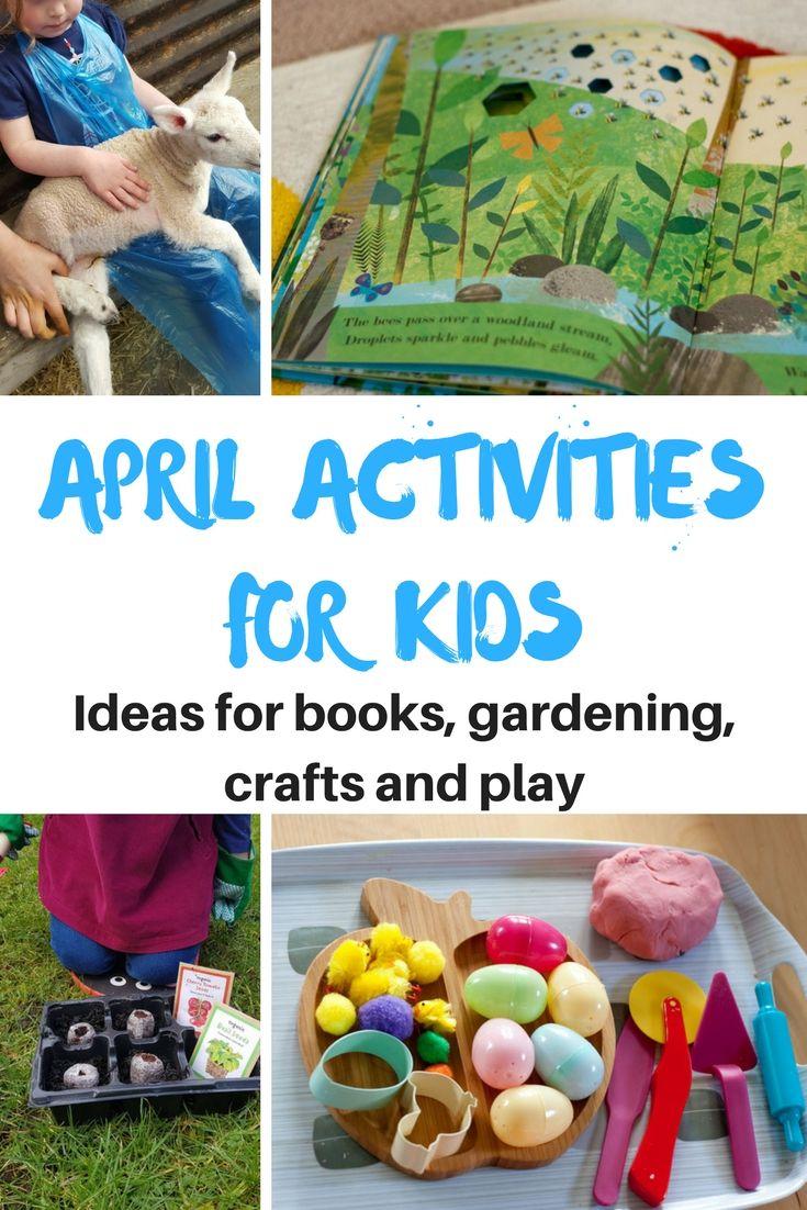 April Activities For Kids Nature Activities For Children Outdoor