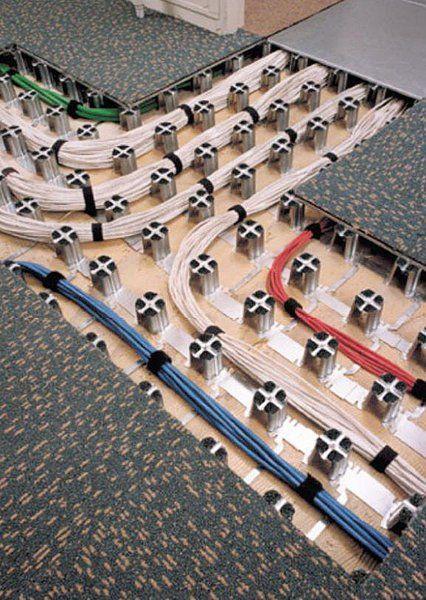 floor cable management