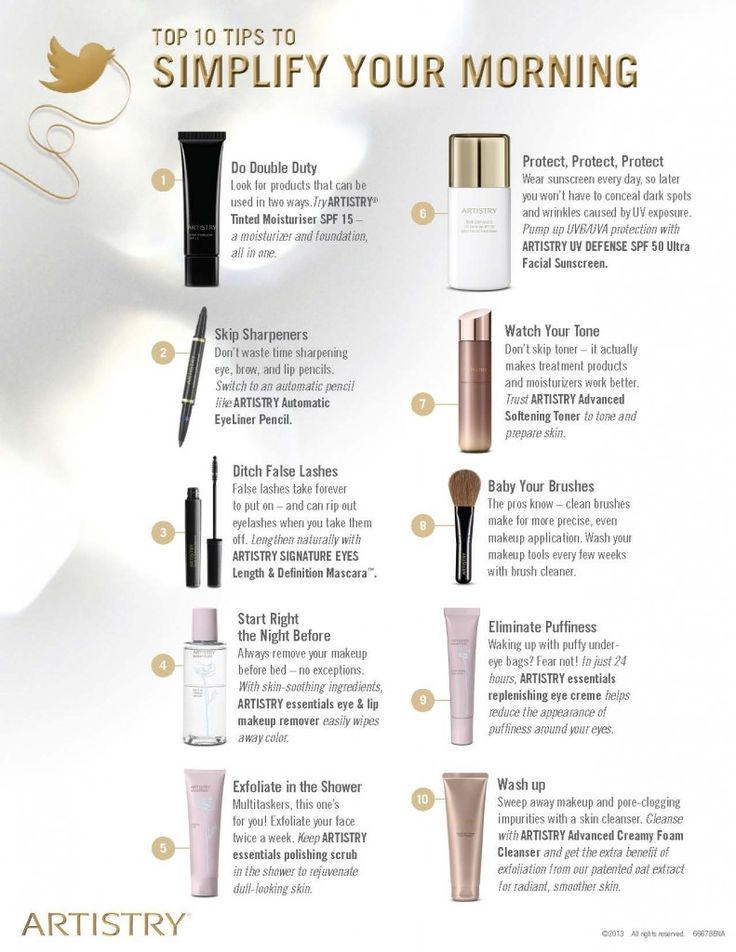Artistry's Top 10 Tips to Simplify your Life! www.amway.com/beckykalicharan loved by www.cosmeticsdelux.blogspot.gr