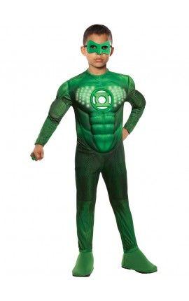 disfraz de hal jordan linterna verde para nio