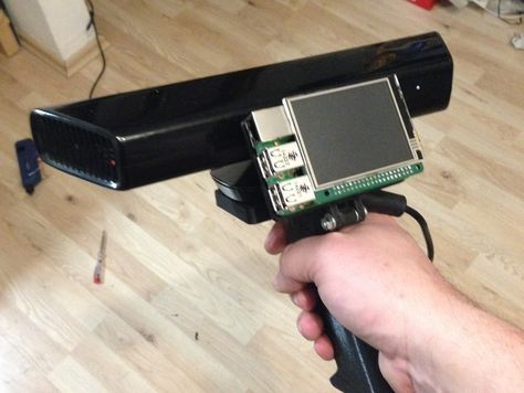 How to use the Kinect on a Raspberry Pi2. Proof of concept 3D Scanner....
