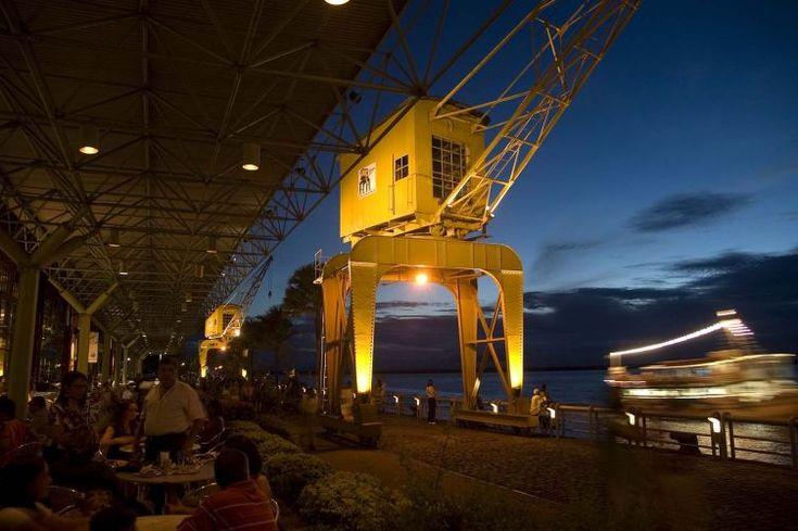 Estação das Docas é uma das principais regiões gastronômicas de Belém, Pará, Brasil