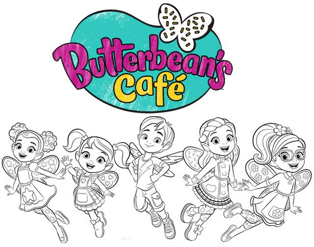 9 Best Butterbean S Cafe Coloring Pages Recommended By Experts