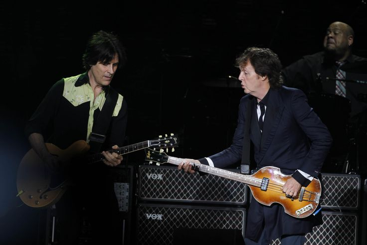Paul McCartney played to a sold-out crowd at Miller Park Tuesday night. The concert, part of his Out There tour, marks the first time the 71-year-old has performed in Milwaukee since 2005. This year is also the 20th anniversary of McCartney's memorable Milwaukee County Stadium show.