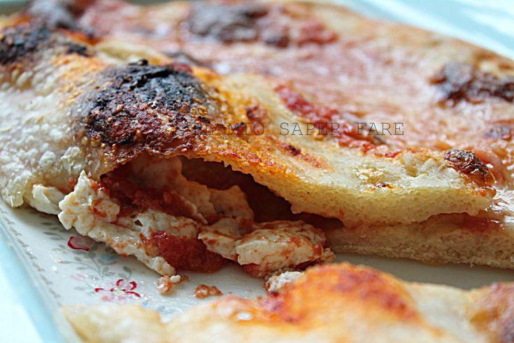 #Pizza fatta in casa: Il #Vesuvio