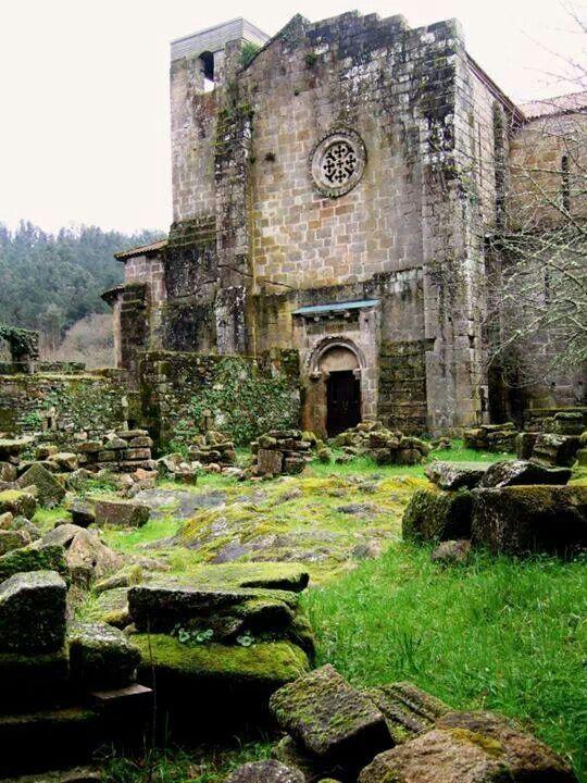 Monasterio de caveiro.  Pontevedra
