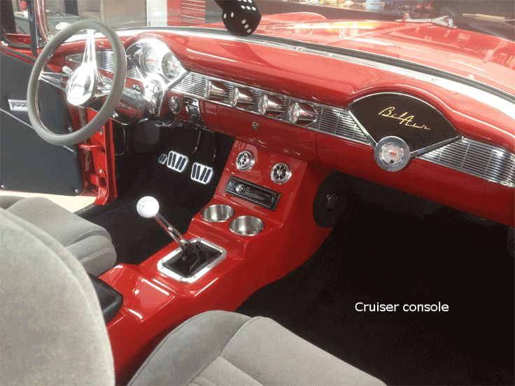 Custom Interior 57 Chevy Bel Air Google Search 1957