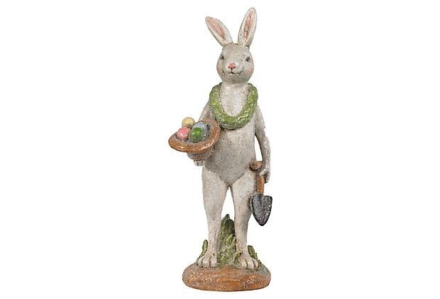 "12"" Bunny w/ Shovel"
