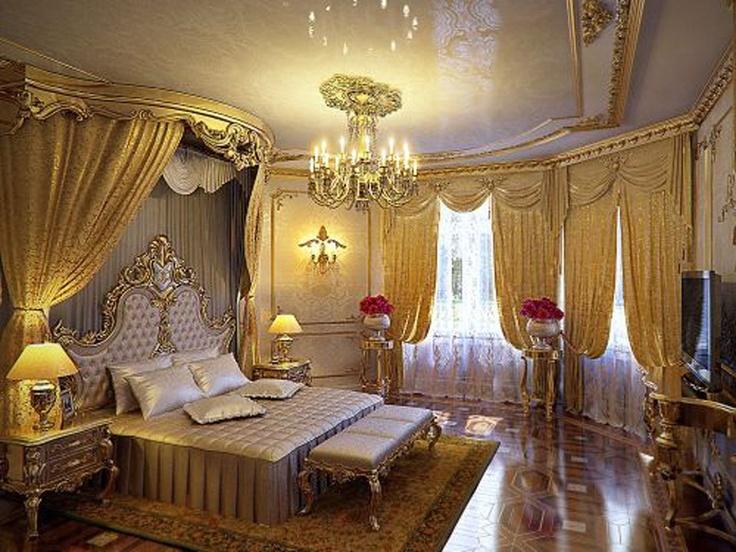 25 beste idee n over gouden slaapkamer op pinterest gouden slaapkamer decor boheense - Master bedroom deco ideeen ...