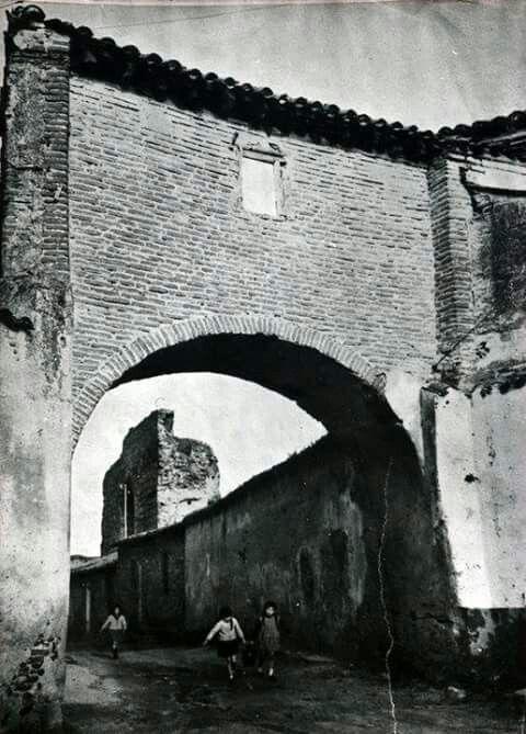 Foto antigua del arco de san agust n talavera de la reina - La reina del mueble talavera ...