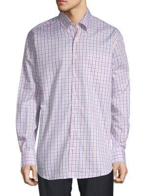 86fd9745d167 PETER MILLAR Wellington Tattersall Plaid Sport Shirt.  petermillar  cloth