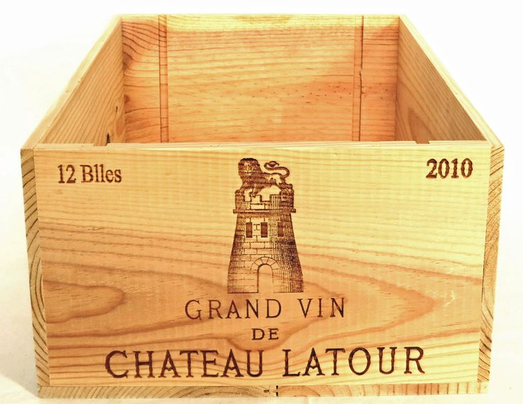 2010 Chateau Latour First Growth wine crate for sale on eBay!