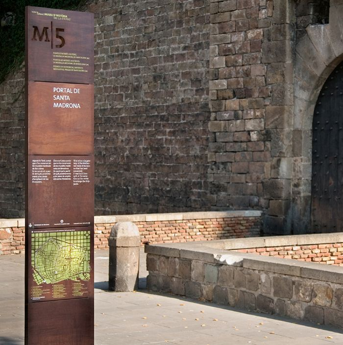Barcelona Points of Historical Interest on Behance