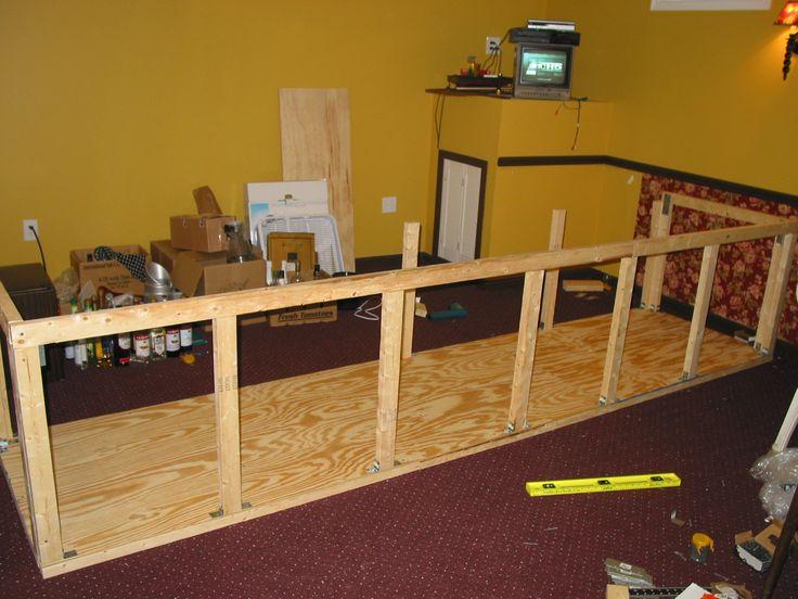 Basement how to build a basement bar the basement for Bar plans for basement