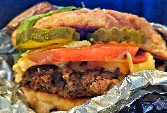 """Though I don't buy burgers, I adore the fries at Five Guys.  Here's some fascinating facts about this chain .... """"15 things you didn't know about Five Guys Burgers and Fries"""" 