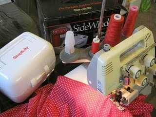 You can use a Sidewinder to create cones for your serger. #sewing