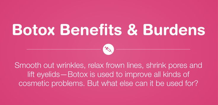 Medical & Cosmetic Benefits of Botox | Headaches, excessive sweating, to wrinkles - YES