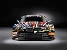 BMW M3 Car | Jeff Koons 17. BMW Art Car, 2010 (BMW M3 GT2)