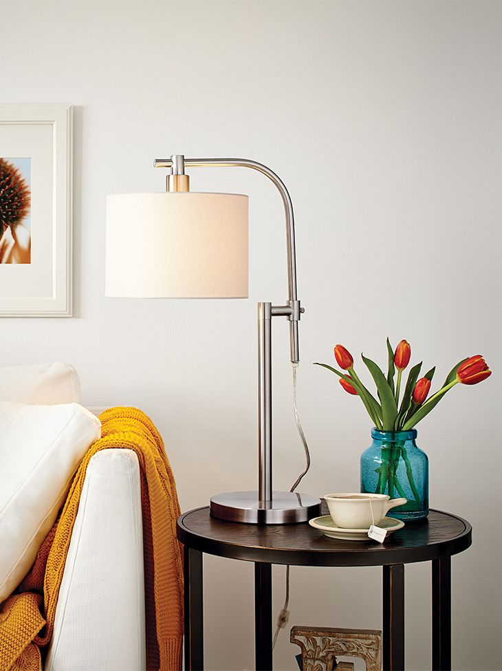 Add some light with the CANVAS Rowan Table Lamp.