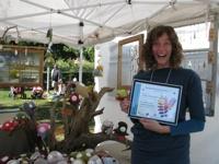 A winning artisan at a previous Danforth East Arts Fair. #award #artfair