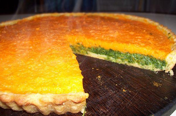 Tarta de Calabaza y Espinaca http://www.solorecetasvegetarianas.com/2014/01/tarta-calabaza-espinaca.html vía @vegrecetas