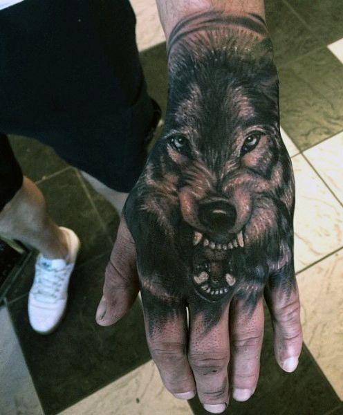 70 Wolf Tattoo Designs For Men - Masculine Idea Inspiration